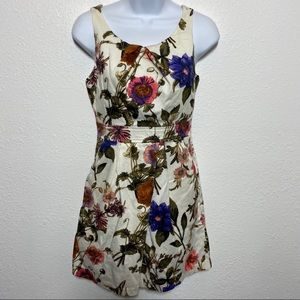 🦋 Forever 21 Floral Mini Dress with Pockets